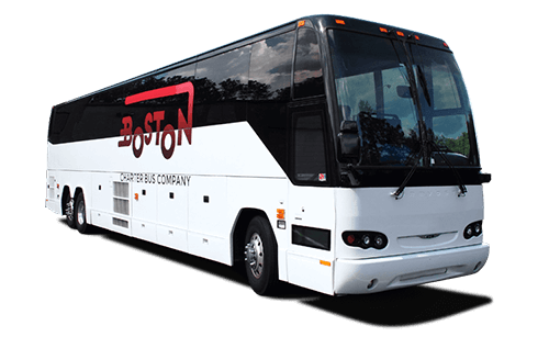 Boston charter bus company